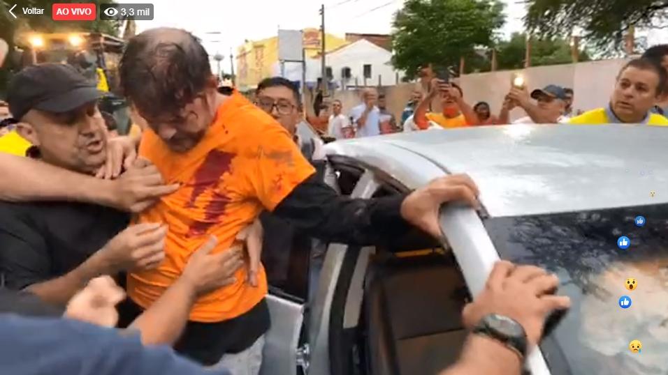 Senador Cid Gomes é baleado ao tentar em quartel em Sobral