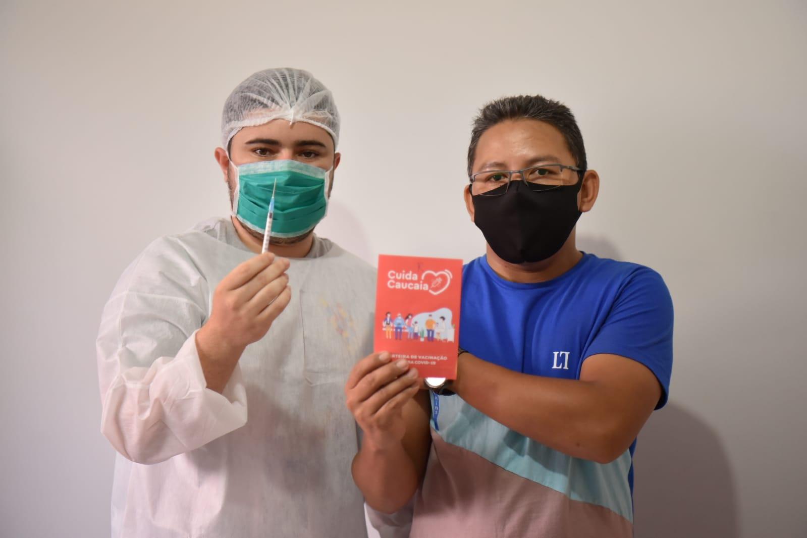 Caucaia intensifica vacinação da segunda dose contra Covid
