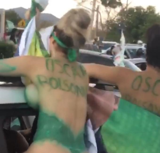 Carreata em Sobral com mulheres nuas pode ser armação, dizem apoiadores de candidato