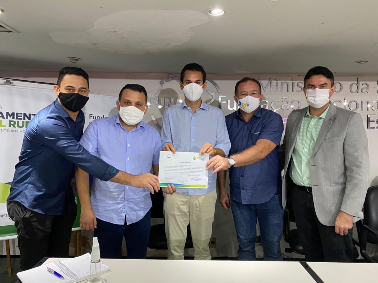 Funasa autoriza através de Domingos Neto obras de abastecimento de R$ 8,7 milhões para sete municípios cearenses