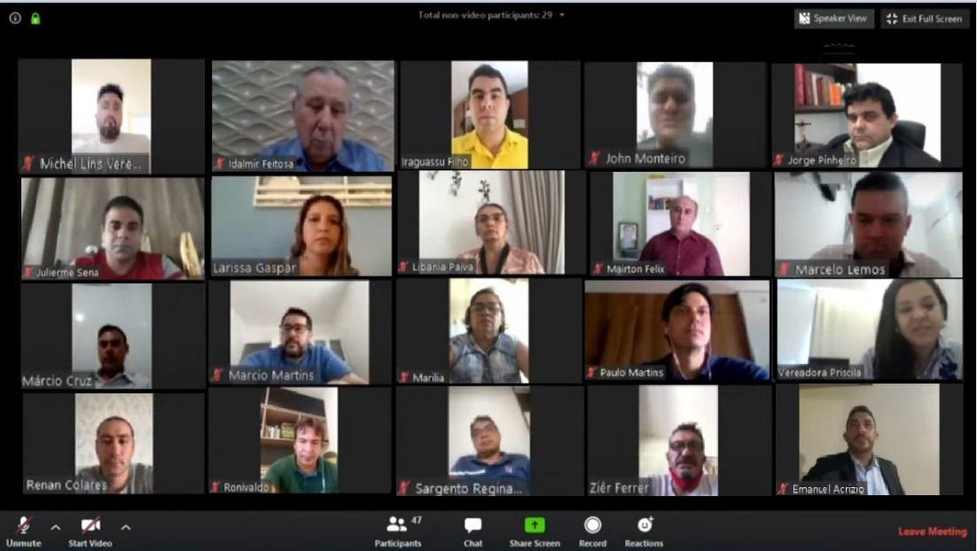 Vereadores de Fortaleza convocarão secretários para prestar contas sobre Covid-19 em sessões não-deliberativas