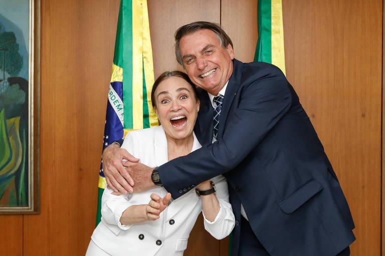 Atriz Regina Duarte deixa cargo no governo Bolsonaro
