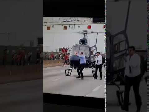 Governador do Rio de Janeiro comemora morte de sequestrador - veja o vídeo