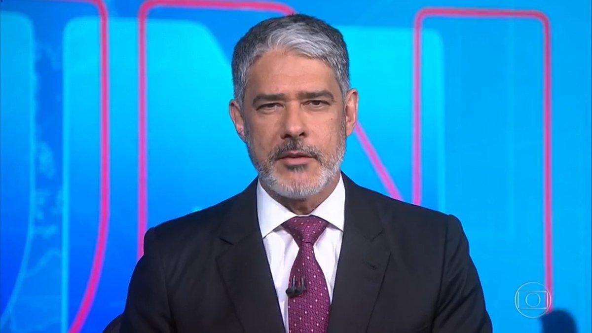 William Bonner renova com a Globo com salário mensal milionário - veja o valor