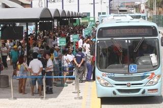 Fortaleza retoma frota de ônibus extra em Fortaleza