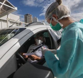 Coronavírus: feito primeiro teste em massa no Brasil