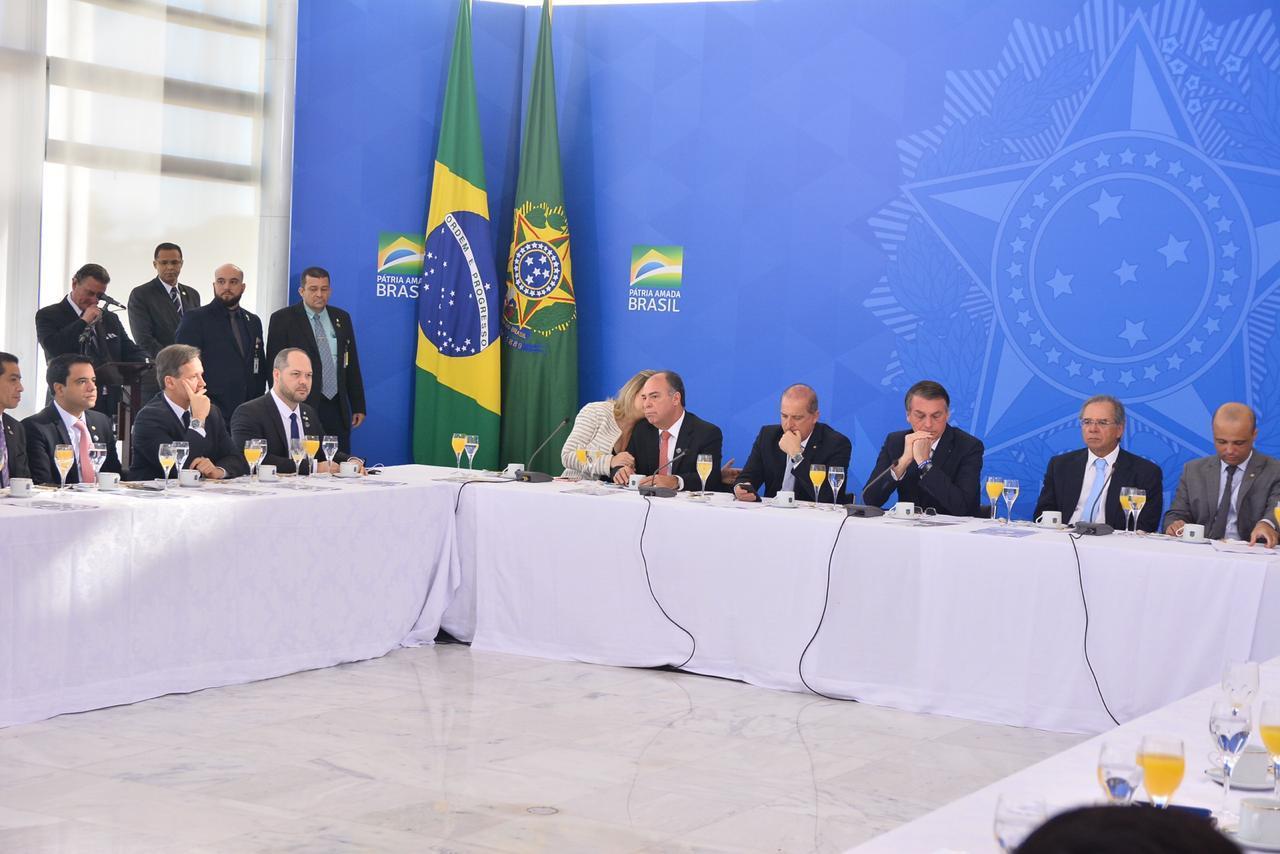 Deputados federais cearenses boicotam reunião de Bolsonaro