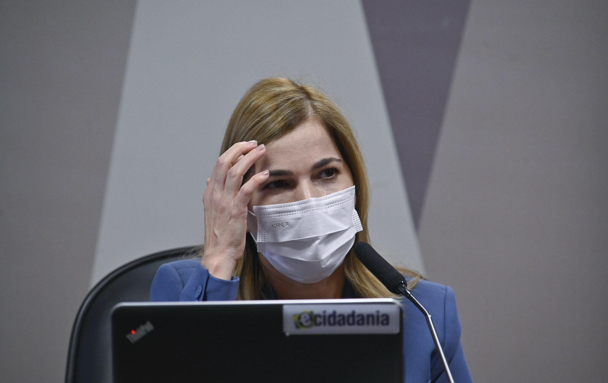 Médica cearense Mayra Pinheiro combina depoimento com senadores bolsonaristas na CPI da Pandemia - vídeo