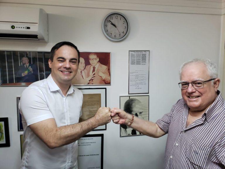 Capitão Wagner recebe apoio do ex-governador Gonzaga Mota