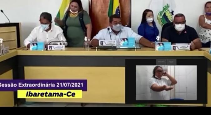 Vereadora cearense acusada de chacina toma posse de dentro de um presídio - vídeo