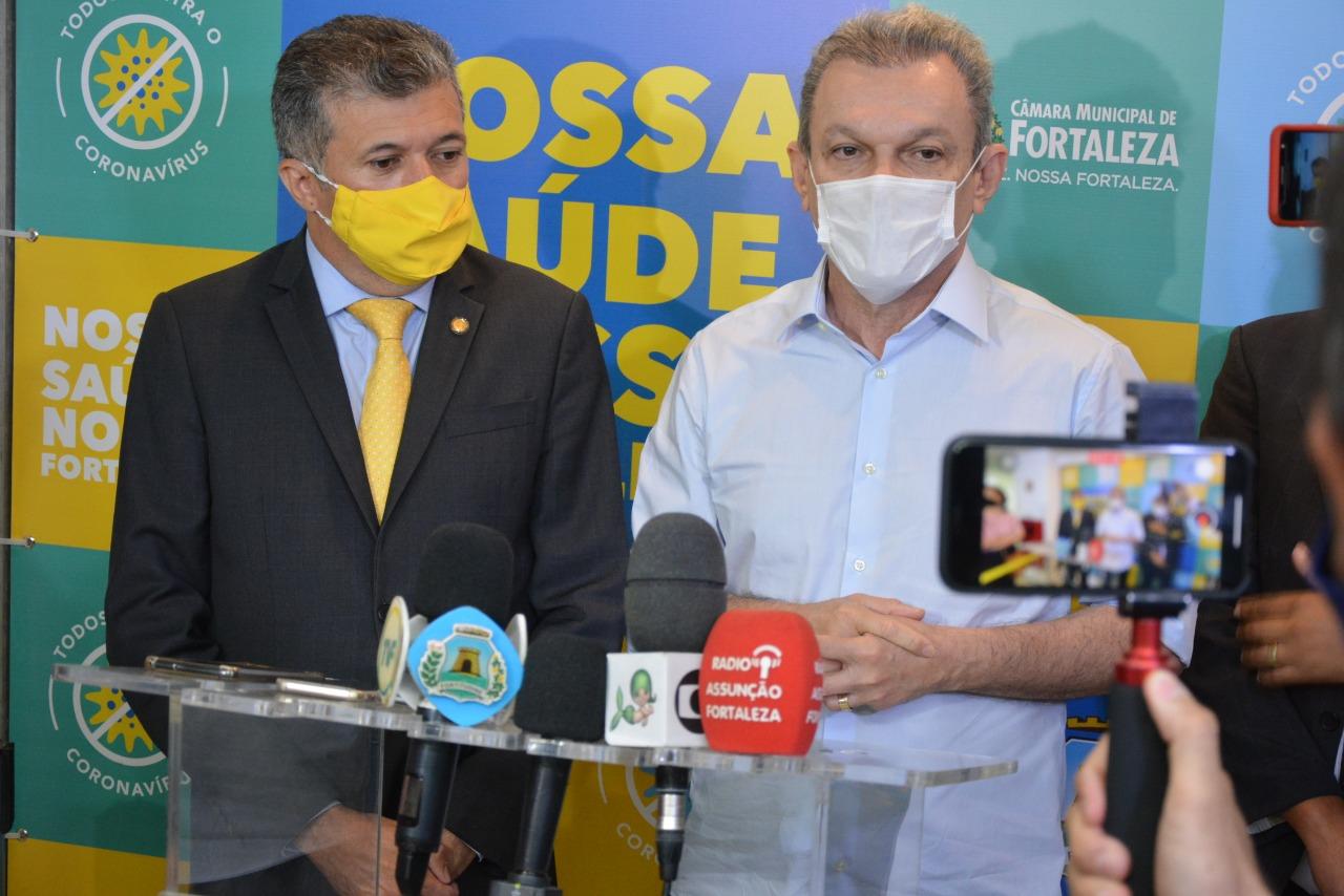 Sarto visita Câmara Municipal de Fortaleza