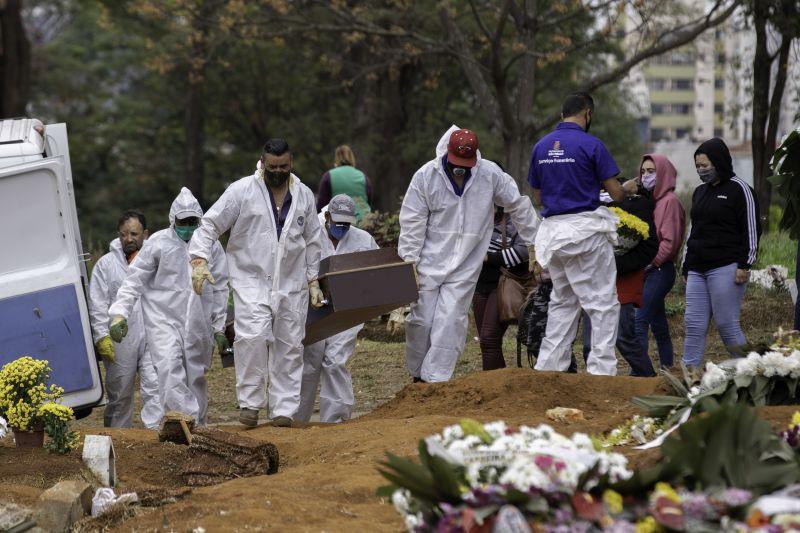 Brasil registra mais de 3 mil mortes por Covid-19 nas últimas 24 horas
