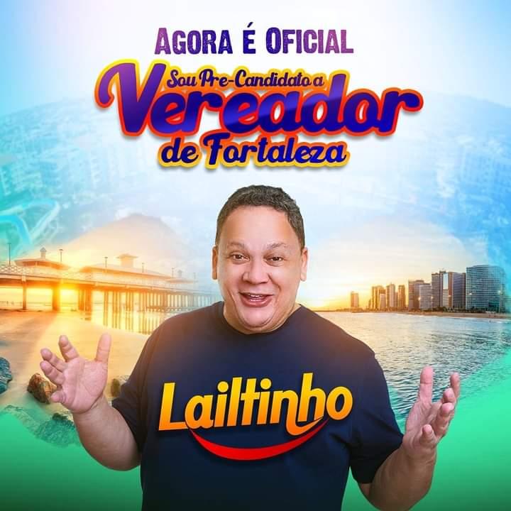 Humorista Laitinho Brega lança pré-candidato a vereador de Fortaleza