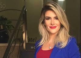 Bianca Saraiva da TV Cidade novamente em rede nacional