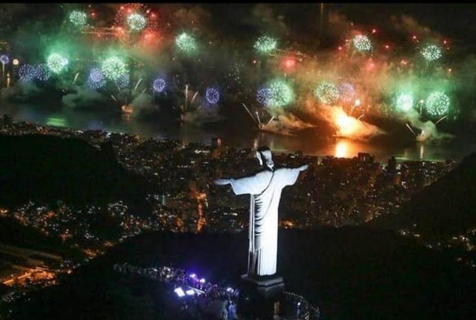 Cancelado Réveillon na Praia de Copacabana no Rio de Janeiro