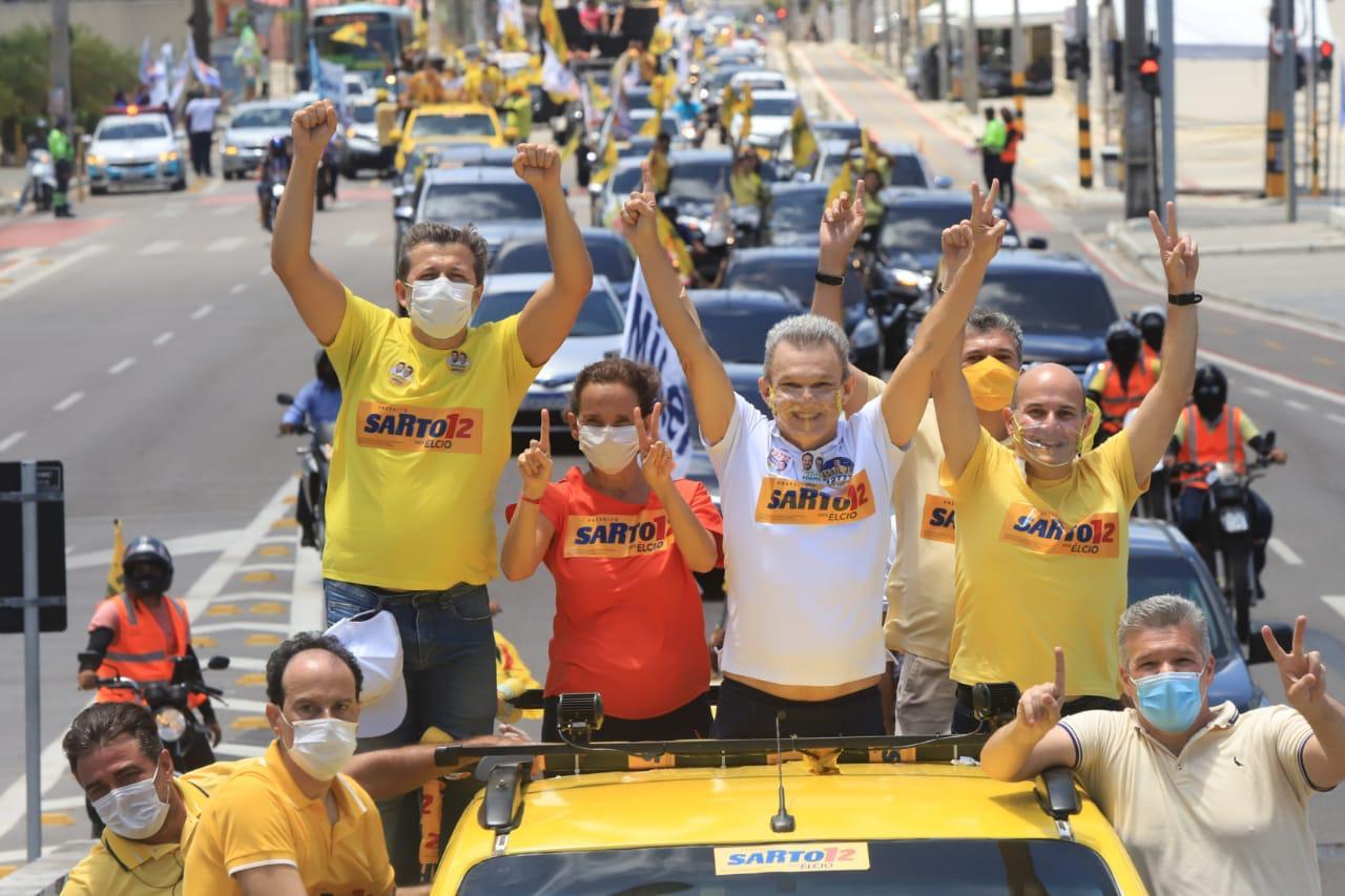 Fortaleza não pode andar para trás, disse Sarto neste domingo