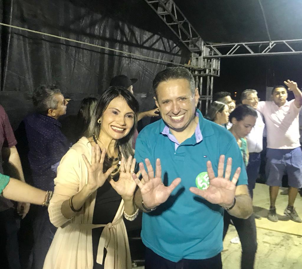 Com a força do PSD Geraldina Braga é eleita prefeita de Irauçuba