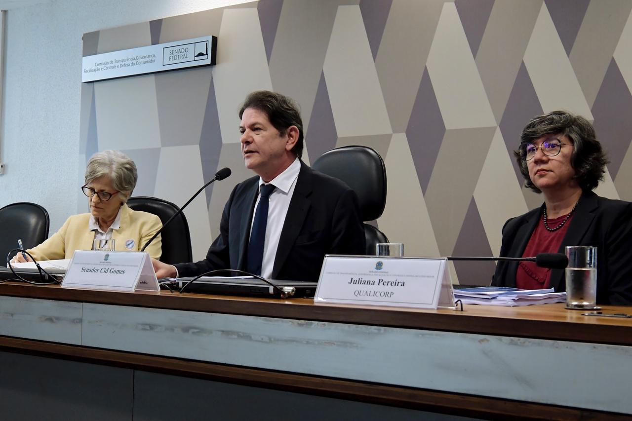 Cid e Ciro Gomes participam de debate sobre marco legal dos planos de saúde e endividamento dos brasileiros