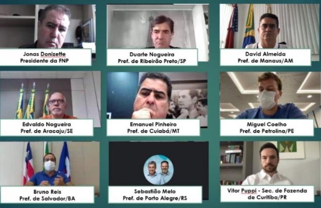 Prefeitos de todo Brasil se reúnem nesta segunda-feira para comprar vacinas