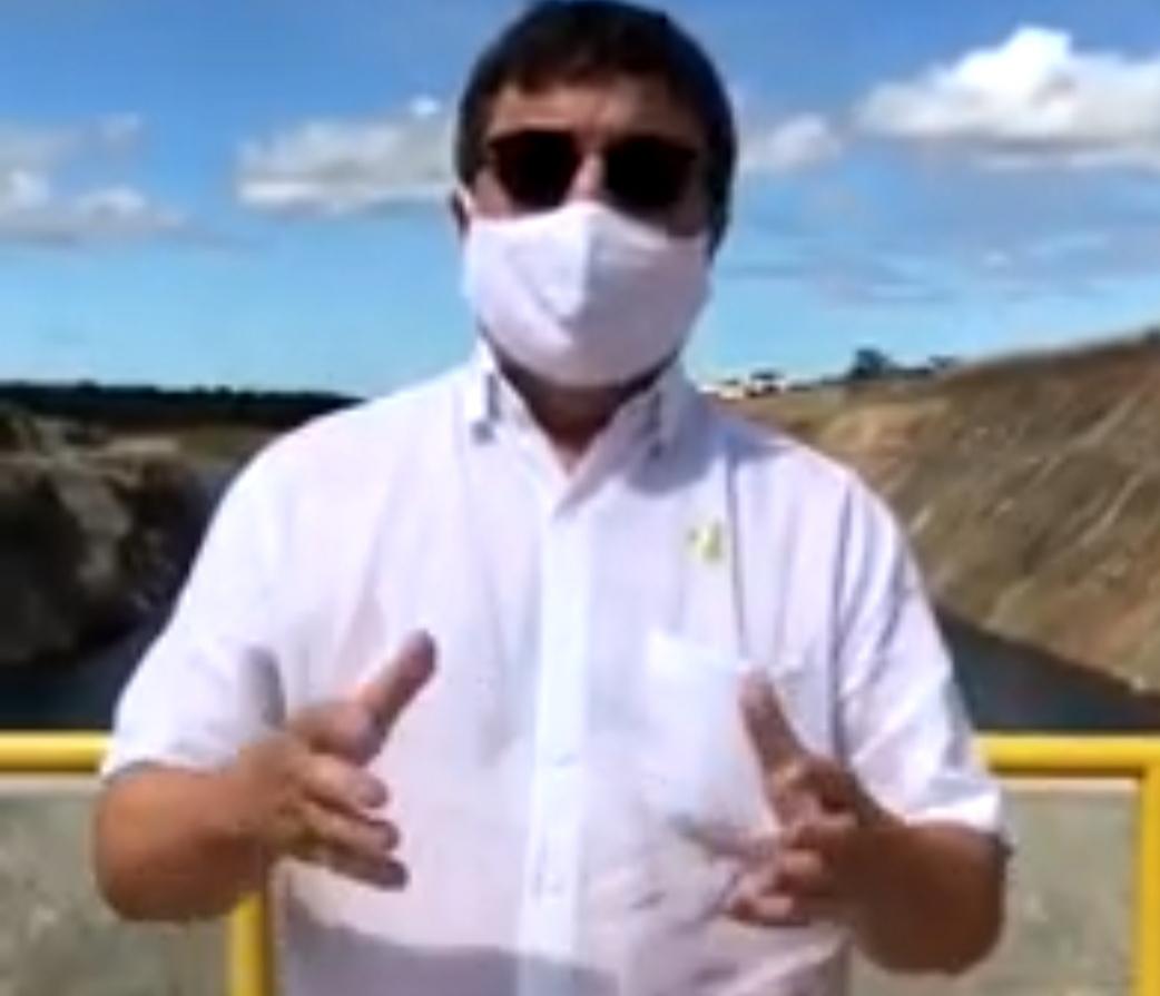 Deputado Danilo Forte celebra chegada das águas do São Francisco no Ceará