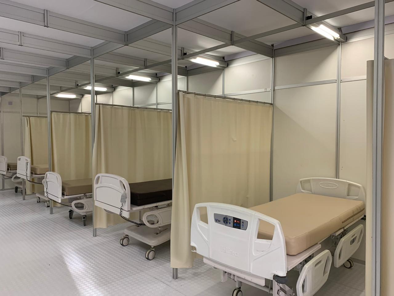 Unimed prepara desmontagem do Hospital de campanha