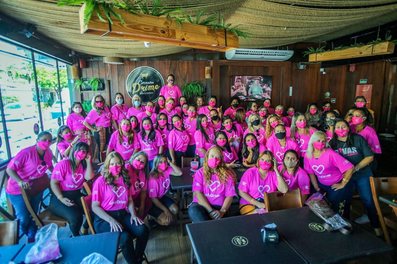 Lady Drive: aplicativo de transporte para mulheres chega em Fortaleza