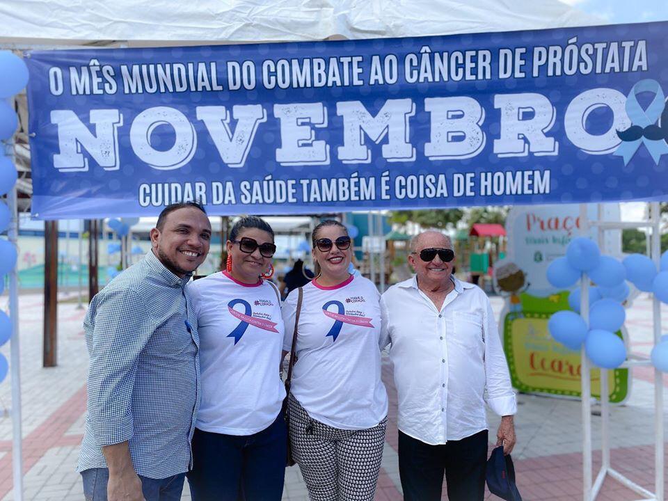 Prefeitura de Aquiraz realiza ação em alusão a campanha Novembro Azul, Confira