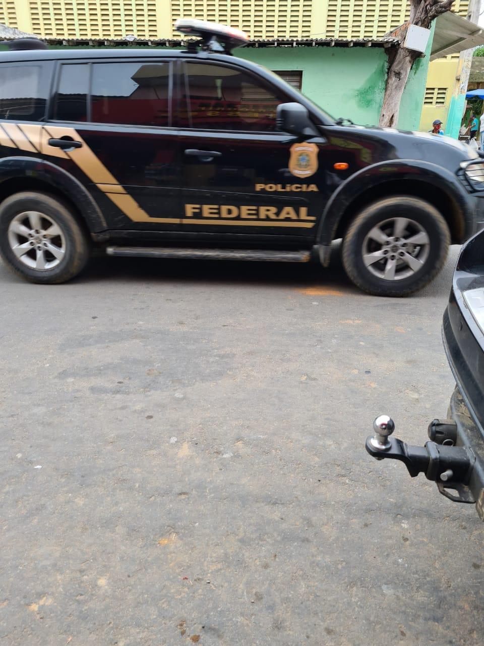 Polícia Federal faz operação em Catarina