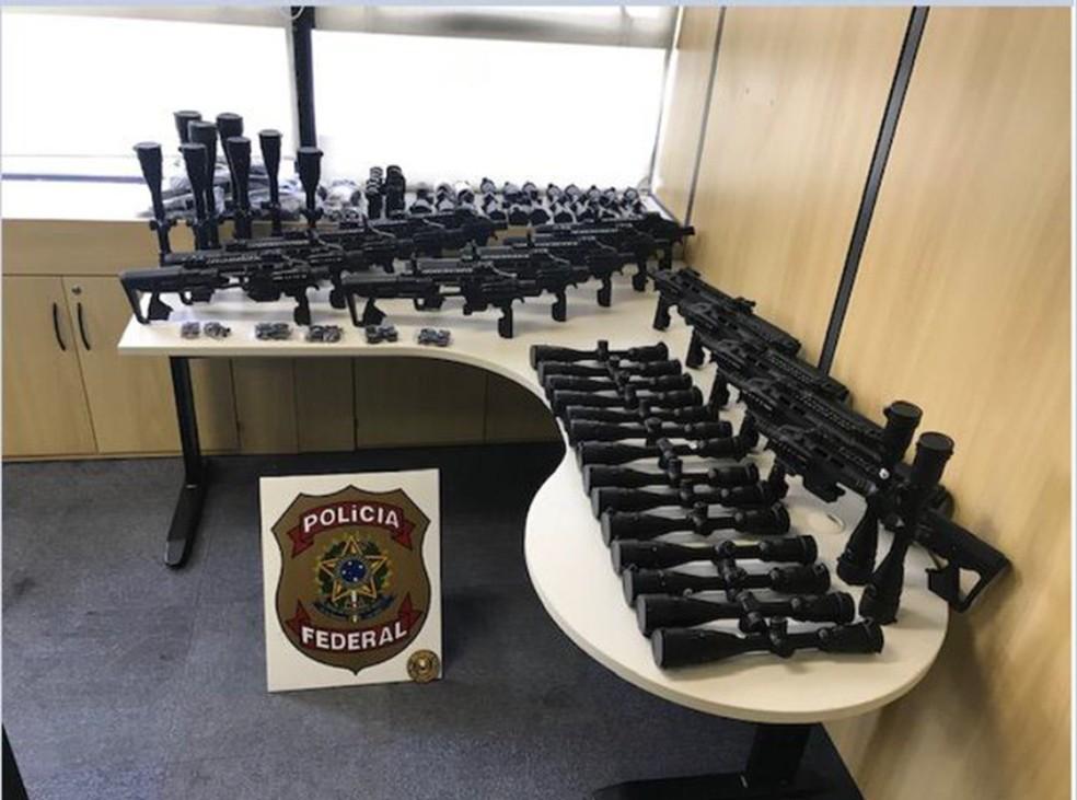 Polícia Federal faz operação contra tráfico internacional de armas em diversos estados, inclusive no Ceará