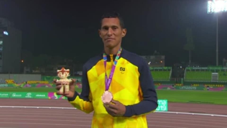 Atleta cearense de Pindoretama é destaque nos Jogos Parapan no Peru com medalha de bronze - vídeo