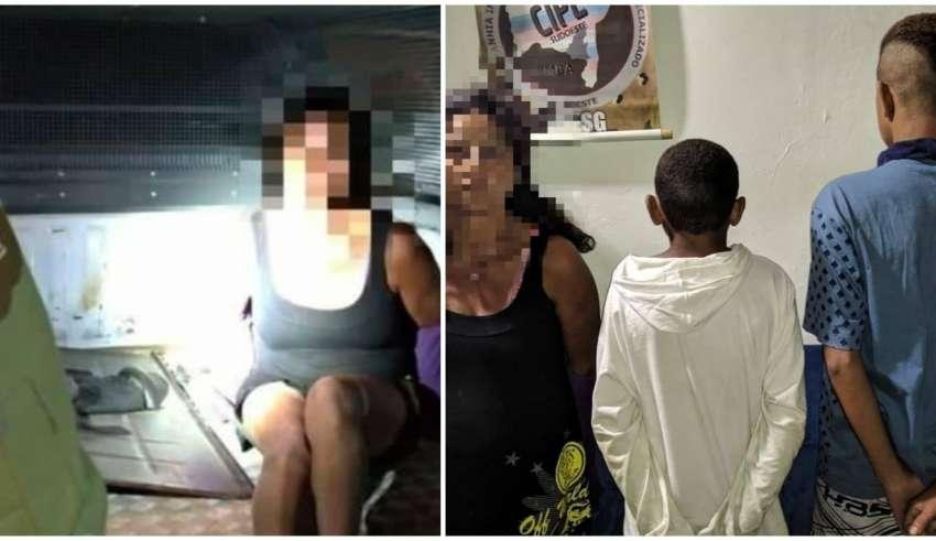 Mulher estupra menino de 12 anos, filma e vai presa