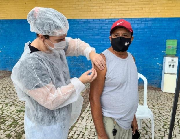 Prefeitura de Pacatuba já aplicou mais de 10 mil doses da vacina contra COVID-19