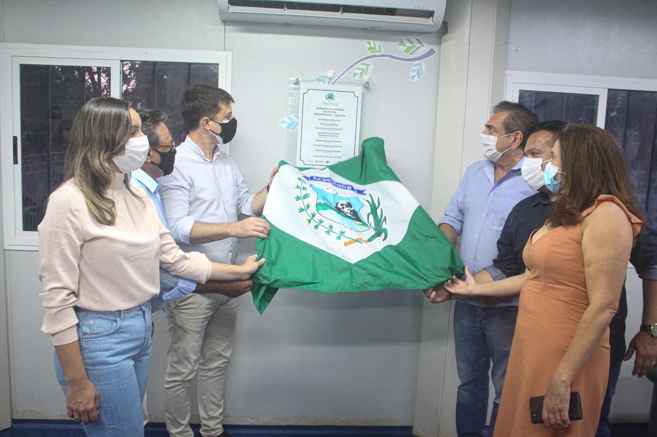 Aracoiaba: Prefeito Thiago Campelo inaugura obra de reforma da UPA 24h