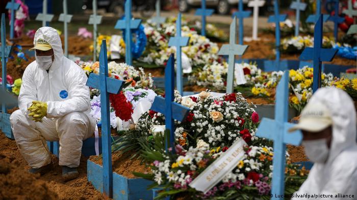 Catástrofe: Brasil se aproxima de 4 mil mortes diárias por Covid-19 nas últimas 24 horas