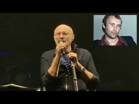 Cantor Phil Collins faz apresentação aos 80 anos