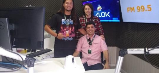 Diretor do Sistema de Comunicação A Notícia do Ceará visita a Rede Evangelizar de Comunicação  em Curitiba