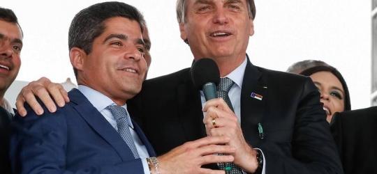 ACM Neto diz que não é vice de Bolsonaro, mas candidato ao governo da Bahia