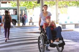 Pessoas com deficiência têm passagem gratuita no transporte público em Fortaleza