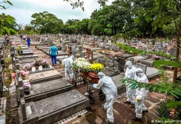 Brasil registra 548 mortes por Covid nas últimas 24 horas