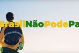 Justiça proíbe veiculação da campanha ' Brasil não pode parar' do Governo Federal