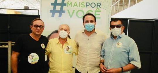 Candidatura de Adams Gomes, filho do deputado Tim Gomes recebe apoio de lideranças de vários partidos