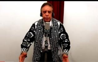 Agnaldo Timóteo grava música antes de ser internado estado grave de Covid-19